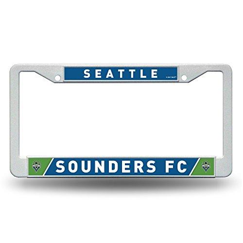 Rico MLS Vancouver Whitecaps FC Kunststoff Teller Rahmen, unisex, MLS, weiß, 12