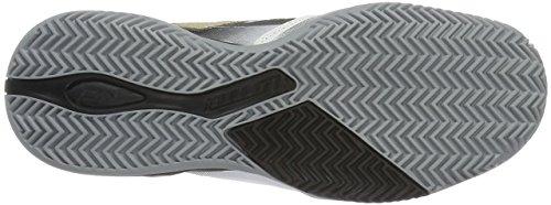 Lotto Sport Stratosphere Clay, Scarpe da Tennis Uomo Nero (BLK/GLD STR)