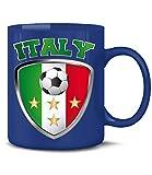 FUSSBALL - FANARTIKEL - ITALIEN 4659(Blau)