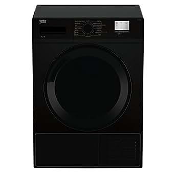 Beko DTGC7000B 7kg Sensor Condenser Tumble Dryer in Black 2 Temps Sensor Drying