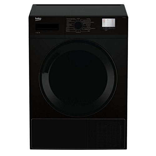 Beko DTGC7000B 7kg Sensor Condenser Tumble Dryer in Black 2 Temps Sensor Drying