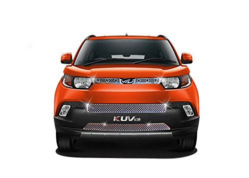 auto pearl - premium quality chrome plated front grill for - mahindra kuv 100 Auto Pearl – Premium Quality Chrome Plated Front Grill For – Mahindra Kuv 100 417iqSF8ybL