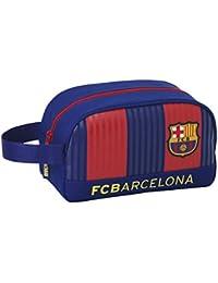 FC Barcelona 811629248 Neceser, 26 cm, Azul / Granate