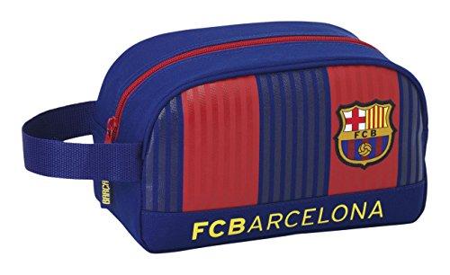 Barcelona F.C 811629248 – Estuche portatodo, Neceser adaptable a carro