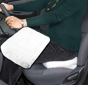 Preisvergleich Produktbild Fahrer-Winkel Lift Sitz Kissen mit waschbar Sitzkissenbezug von Jumbl