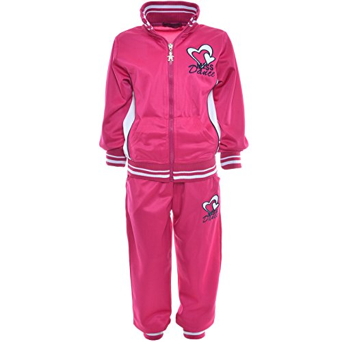 bezlit-tuta-da-ginnastica-collo-a-u-maniche-lunghe-ragazza-rosa-152-cm-12-anni