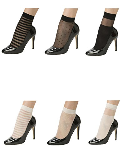 pack-3-pairs-pop-socks-with-strips-pois-trasparent-stripe-semitransparent-ankle-socks-elegant-womans
