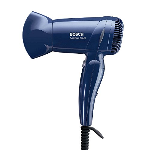Bosch PHD 1100 - Secador de pelo de viaje (1200 W), color azul oscuro