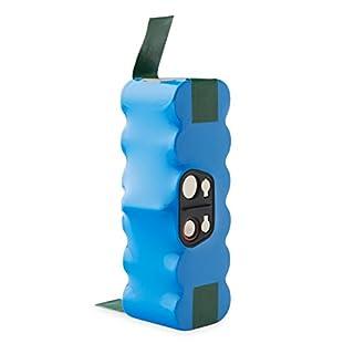 efluky 4.0Ah 14.4V 3-Jahres-Leben Ni-MH  Ersatz Batterie für iRobot Roomba 500, 600, 700 und 800 Series 500 510 521 534 555 564 565pet 581 600 620  630  650 651 700 765 770 776p 785 790 800 860 etc