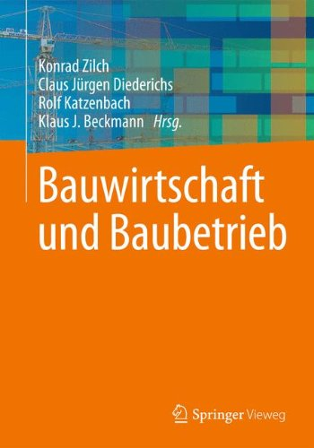 Bauwirtschaft und Baubetrieb (German Edition)