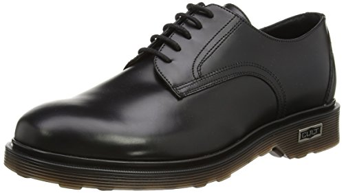 Cult Ozzy Low 412 Brush.Leath., Scarpe basse, Uomo, Nero (Black), 44