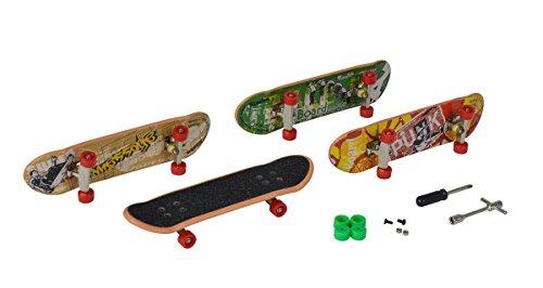 Simba 103302163 - Finger Skateboard 4er Set
