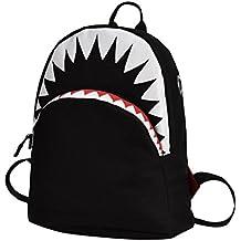 STRIR 3D Tiburón Mochila Infantil Niño Mochilas Escolares Juveniles Tiburón Patrón Animales Guardería Mochila viaje bolsos