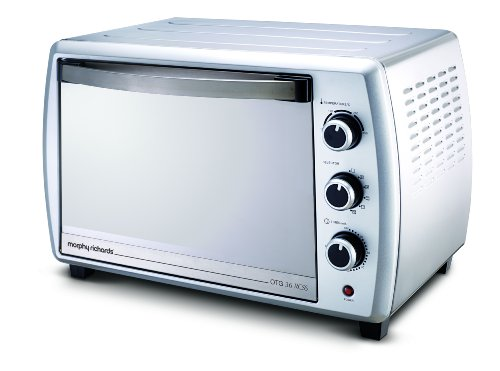 Morphy Richards 36 RCSS 1500-Watt Oven Toaster Grill (Silver)