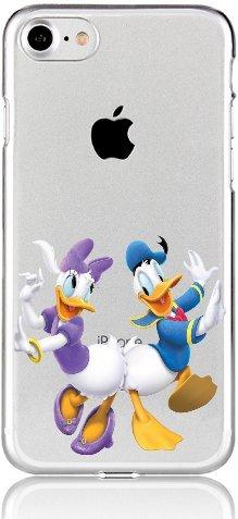 Blitz® DONALD DUCK Schutz Hülle Transparent TPU Cartoon Comic Case iPhone M12 iPhone 7 M11