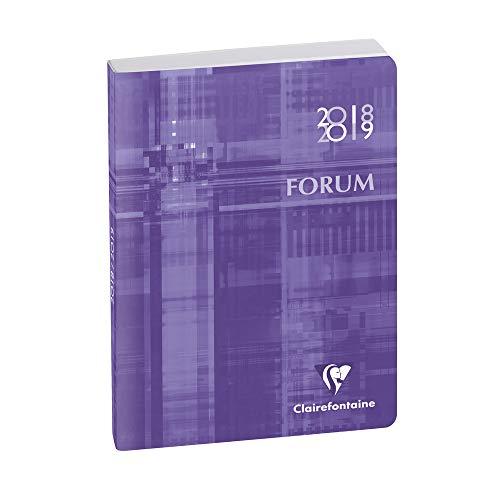 Exacompta Metric Forum Agenda scolaire Noir Septembre 2014 à Septembre 2015