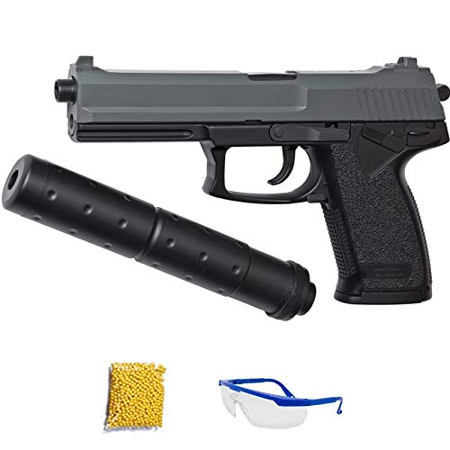 DL 60 SOCOM DUOTONE ASG Pistola de Airsoft Calibre 6mm (Arma Aire Suave de Bolas de plástico o PVC). Sistema: Muelle.