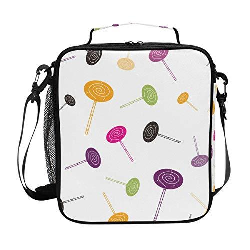 Malpela Lunchbox/Lunchbox, isoliert, Motiv Heiligma-Bonbons, mehrfarbig (Einweg-bonbons)