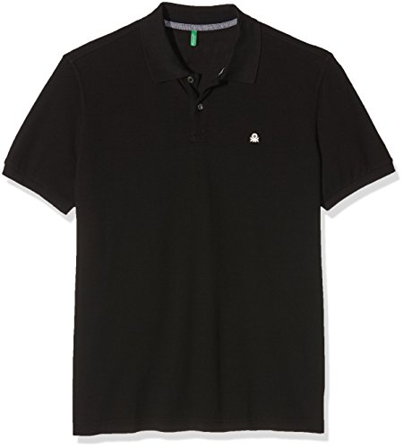 united-colors-of-benetton-herren-poloshirt-schwarz-black-100-gr-medium