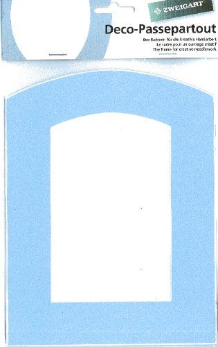 Zweigart Deco-Passepartout Torbogen - Farbe: 51 - hellblau