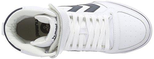 Hummel - Stadil Classic, Scarpe da ginnastica Unisex – Adulto Weiß (White/Total Eclipse)