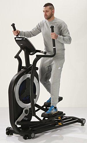 MAXXUS® Ellipsentrainer 10.1 Pro – Magnet- und Luftantrieb. Crosstrainer mit elliptischem Bewegungsablauf. Gelenkschonende, flache und elliptische Bewegung. 150kg Benutzergewicht - 3