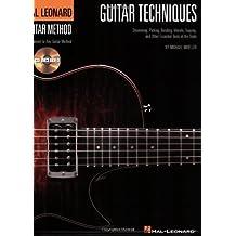 Guitar Techniques (Bk/Cd) Hal Leonard Guitar Method Supplement by Michael Mueller (2008-04-01)