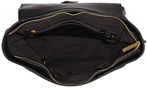 Calvin Klein Jeans Myr4 Top Handle Satchel, Sac Femmes, 28 EU Noir (Black)
