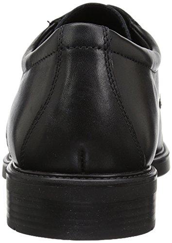Geox Brandolf U824VA 00043 C9999 Herren Halbschuh Aus Glattleder Gummilaufsohle Black