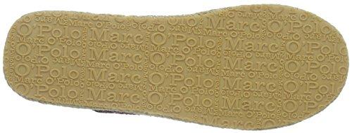 Marc O'Polo Damen 60912949302604 Hausschuh Pantoffeln Rot (bordo combi 376)