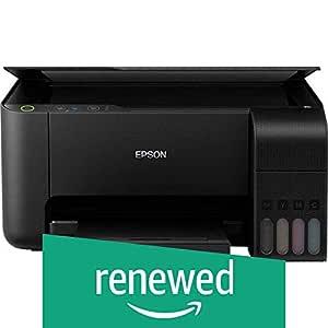 (Renewed) Epson EcoTank L3150 Wi-Fi All-in-One Ink Tank Printer (Black)