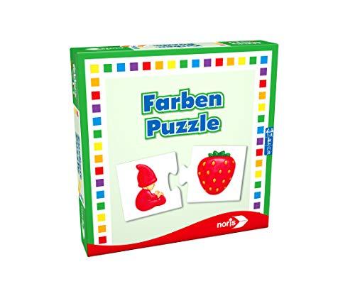 Noris 608985664 Niños Puzzle Board Game - Juego de Tablero (Puzzle Board Game, Niños, Niño/niña, 3 año(s), CE)
