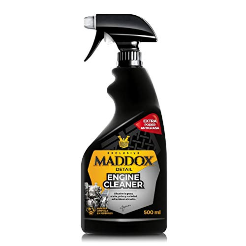 Maddox Detail 40101 Engine Cleaner - Limpiador de Motores. Disuelve La Grasa, Aceite, Polvo y Suciedad Adherida. No Dañ