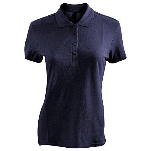SOLS Passion - Polo 100% coton à manches courtes - Femme Bleu Marine