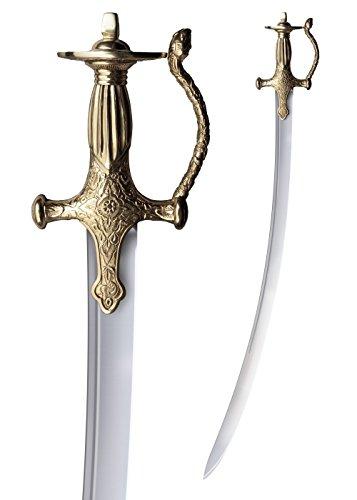 Cold Steel 88EITB Talwar Schwert mit Scheide Hochwertiges indisches Schwert LARP Ritter Mittelalter Verkauf ab 18 (Kostüme Indische Mittelalter)