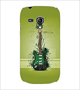 PrintDhaba Guitar D-5483 Back Case Cover for SAMSUNG GALAXY S3 MINI (Multi-Coloured)