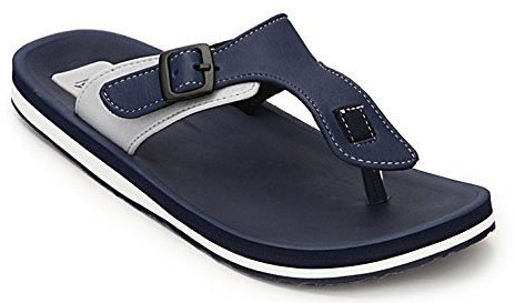 adda men's New house slippers and Thong Sandals blue New 9uk  available at amazon for Rs.499