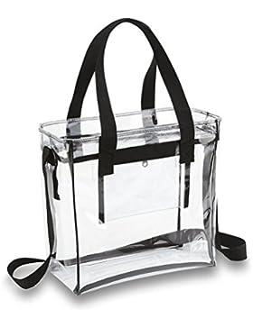 Yiuswoy Gross Pvc Taschen Transparent,Wasserdichte Strandtasche Transparente,Reise Organizer,Damen Handtasche...