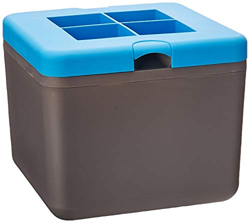 True Cubes CLEAR ICE CUBE TRAY: 4-cube Tablett -