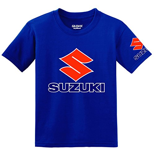 suzuki-logo-with-sleeve-t-shirt-medium-blue