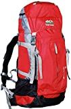 Hiker's way 45 Ltrs Red Internal Frame Rucksack Backpacks Travel Bag Hiking Bag