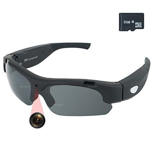 TEKMAGIC-8GB-19201080P-HD-Gafas-de-Sol-con-una-Cmara-Espa-Eyewear-Videocmara-DV-Soporte-de-la-Grabacin-de-Audio-y-Tomar-Fotos