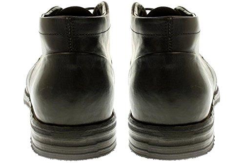 No Claim N23-2301 - Chaussures Hommes Chaussures Basses À Lacets Noir
