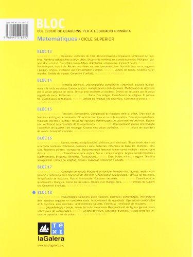Bloc Matemàtiques 18 - 9788441218130