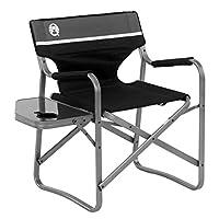 Coleman Aluminum Deck Chair - Black