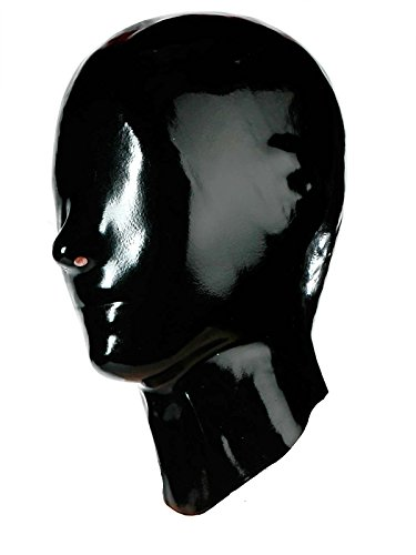 Fetisso - 1110 - geschlossene Latexmaske, Latex Maske - geschlossen Gummimaske Latexhaube Gesichtsmaske Vollmaske Latex Maske, (Latex Maske)