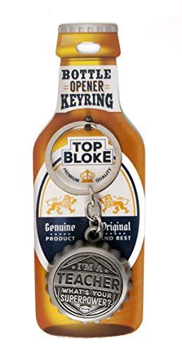 Top Bloke Flaschenöffner mit Flaschenöffner - Personalisiert auf den Titel