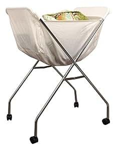ghz matra w schekorb trolley metall verchromt wei 61. Black Bedroom Furniture Sets. Home Design Ideas