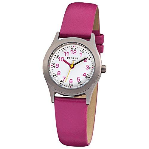 regent-kinder-armbanduhr-elegant-analog-leder-armband-pink-quarz-uhr-ziffernblatt-weiss-urf946