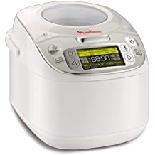 Tefal MK8121 Multicooker 45 in 1, 750 W, 5 L Kapazität, 45 Kochfunktionen, Warmhaltefunktion, LC-Display, weiß (Generalüberholt)